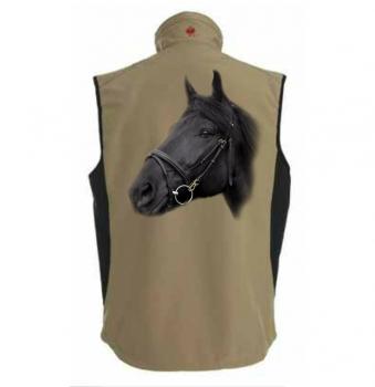 cb0dfe2566 bedruckte Weste Softshell Weste mit Fotodruck - T-Shirts & Geschenke ...
